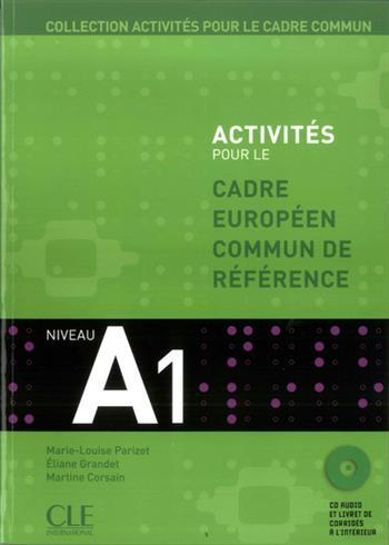 Activites pour le CECR N A1, portada