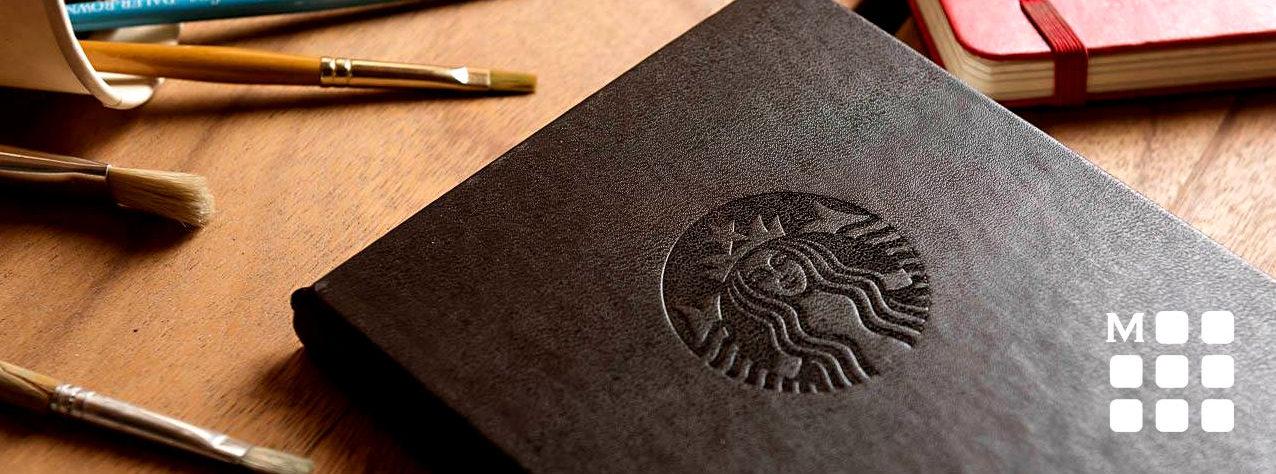 moleskine personalizado Starbucks